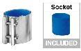 Milking Machine – Milking Systems - Milking Equipment - 9010089 -Coupling Blue D40 - Milk line - Milk Receivers HD
